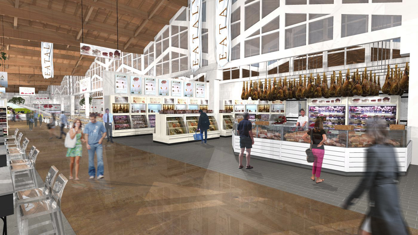 Rendering Inerno Eataly World